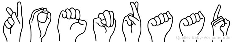 Koenraad in Fingersprache für Gehörlose