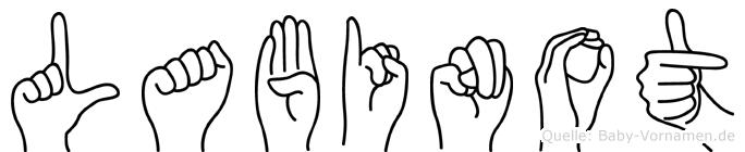 Labinot in Fingersprache für Gehörlose