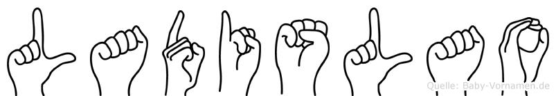 Ladislao in Fingersprache für Gehörlose