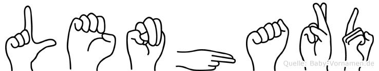 Lenhard in Fingersprache für Gehörlose