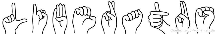 Liberatus in Fingersprache für Gehörlose