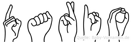 Dario in Fingersprache für Gehörlose