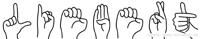 Liebert in Fingersprache für Gehörlose