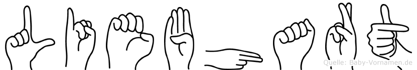 Liebhart in Fingersprache für Gehörlose