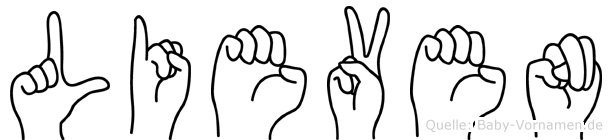 Lieven in Fingersprache für Gehörlose