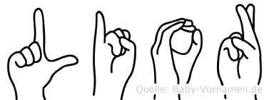Lior in Fingersprache für Gehörlose