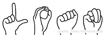 Loan in Fingersprache für Gehörlose