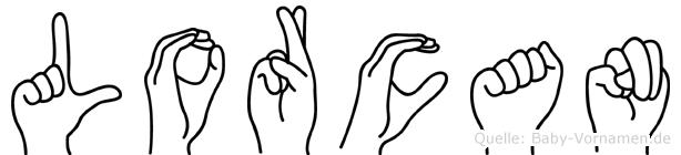 Lorcan in Fingersprache für Gehörlose