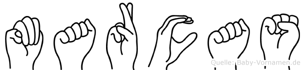 Marcas in Fingersprache für Gehörlose