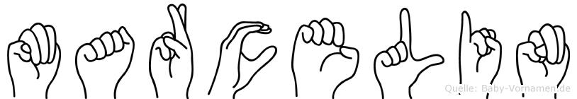 Marcelin in Fingersprache für Gehörlose