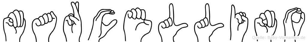 Marcellino in Fingersprache für Gehörlose