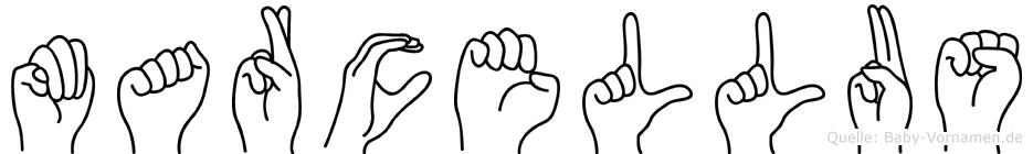 Marcellus in Fingersprache für Gehörlose