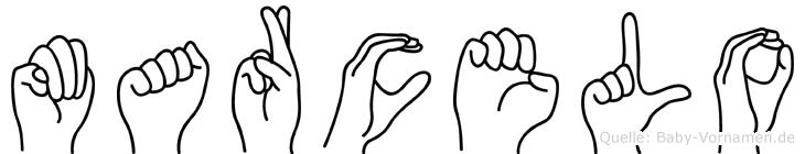 Marcelo in Fingersprache für Gehörlose