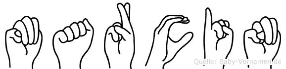 Marcin in Fingersprache für Gehörlose