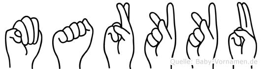 Markku in Fingersprache für Gehörlose