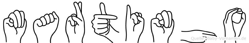 Martinho in Fingersprache für Gehörlose