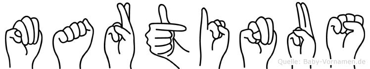 Martinus in Fingersprache für Gehörlose