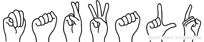 Marwald in Fingersprache für Gehörlose