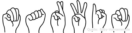 Marwin in Fingersprache für Gehörlose