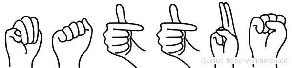 Mattäus in Fingersprache für Gehörlose