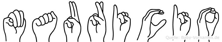 Mauricio in Fingersprache für Gehörlose