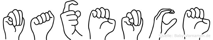 Maxence in Fingersprache für Gehörlose