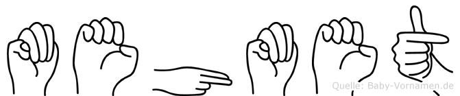 Mehmet in Fingersprache für Gehörlose