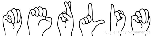 Merlin in Fingersprache für Gehörlose