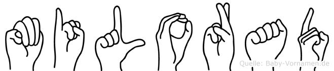 Milorad in Fingersprache für Gehörlose