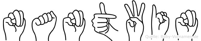 Nantwin in Fingersprache für Gehörlose