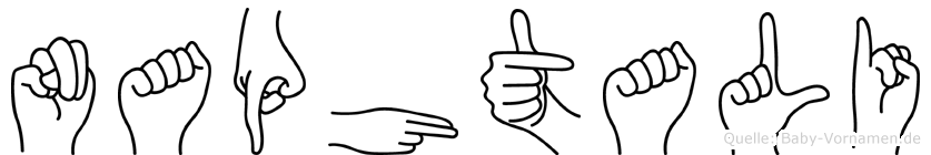 Naphtali in Fingersprache für Gehörlose