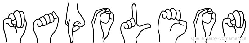 Napoleon in Fingersprache für Gehörlose
