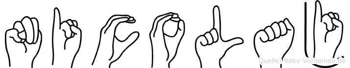 Nicolaj in Fingersprache für Gehörlose