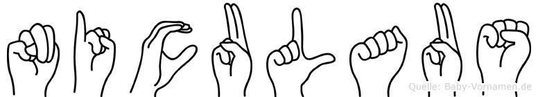 Niculaus in Fingersprache für Gehörlose