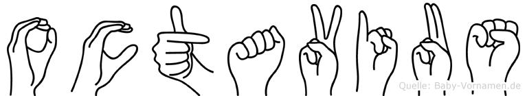 Octavius in Fingersprache für Gehörlose