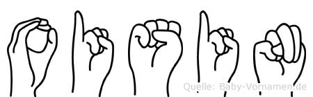 Oisin in Fingersprache für Gehörlose