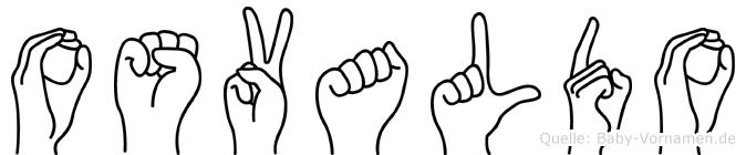 Osvaldo in Fingersprache für Gehörlose