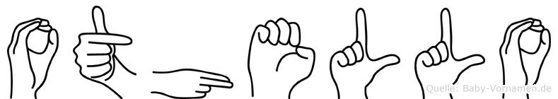 Othello in Fingersprache für Gehörlose