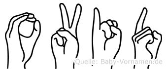 Ovid in Fingersprache für Gehörlose