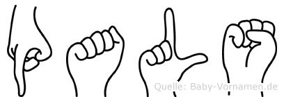 Pals in Fingersprache für Gehörlose