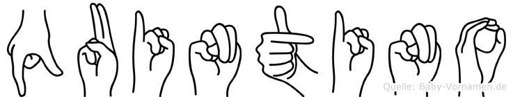 Quintino in Fingersprache für Gehörlose