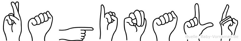 Raginald in Fingersprache für Gehörlose