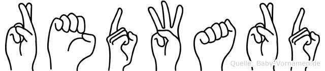 Redward in Fingersprache für Gehörlose