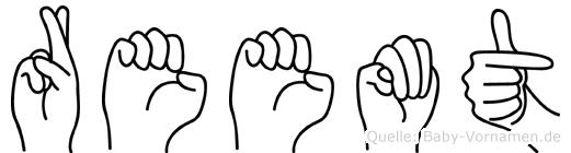 Reemt in Fingersprache für Gehörlose