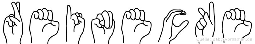 Reinecke in Fingersprache für Gehörlose