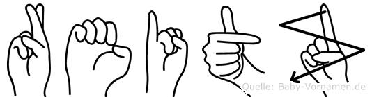 Reitz in Fingersprache für Gehörlose