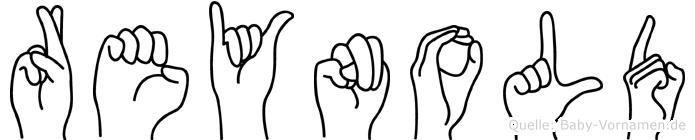 Reynold in Fingersprache für Gehörlose