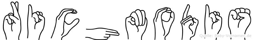 Richmodis in Fingersprache für Gehörlose