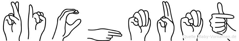 Richmunt in Fingersprache für Gehörlose