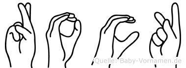 Rock in Fingersprache für Gehörlose